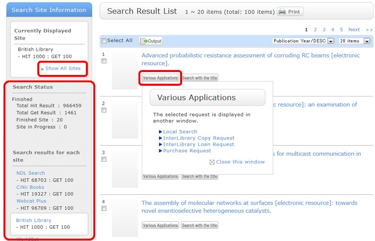 Cross Search_Search Results